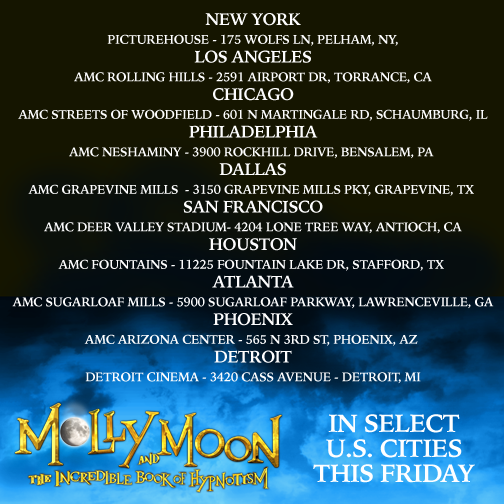 Molly Moon cinema release