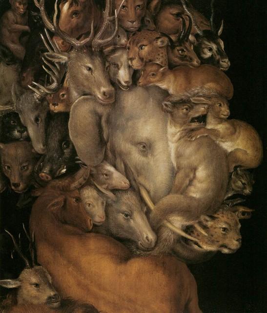 Earth - Giuseppe Arcimboldo, 1570