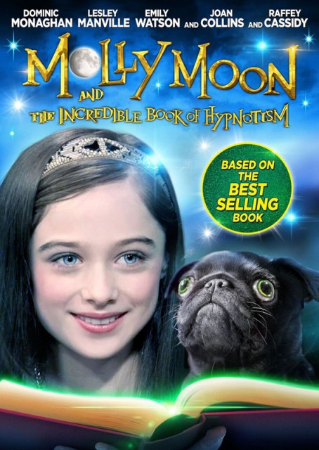 Molly Moon and the Incredible Book of Hypnotism Arc poster