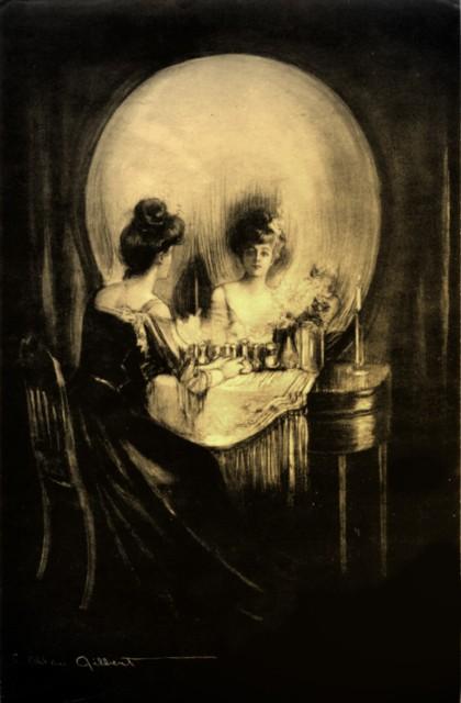 All is Vanity - Charles Allan Gilbert, 1892