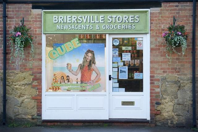 Photo - Briersville Stores set design