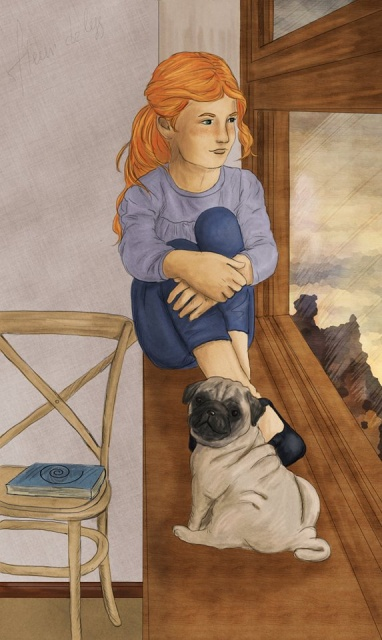 Molly Moon and Petula by Molly Foster