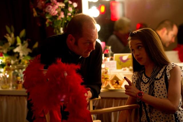Photo - Chris talks to Raffey