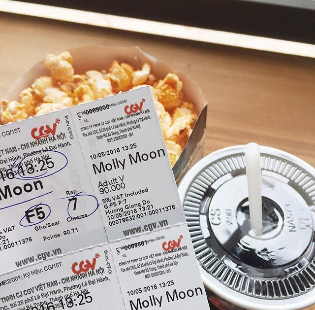 Molly Moon movie has been released in Vietnam