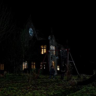 Hardwick House night shoot