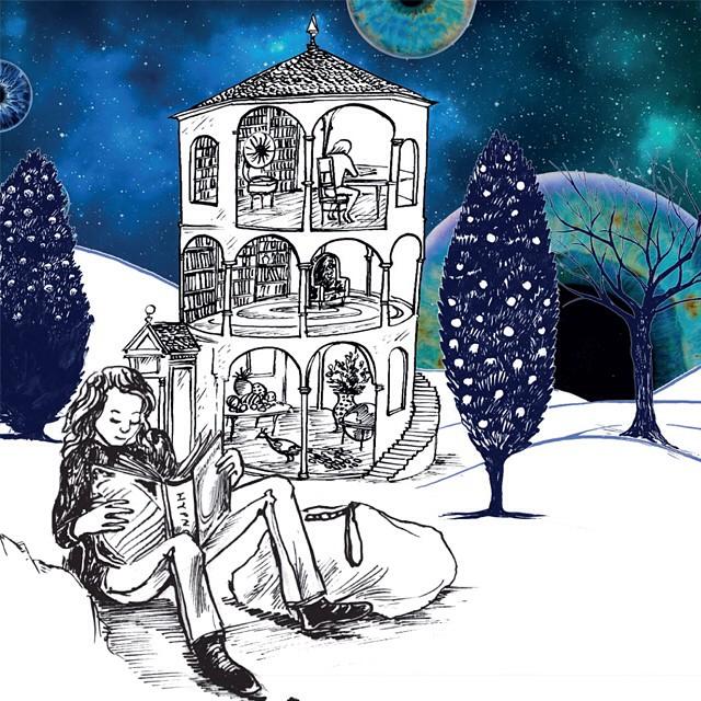 Molly Moon illustration