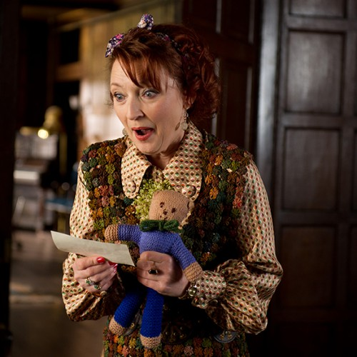 Lesley Manville as Miss Agnes Adderstone
