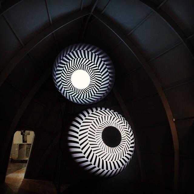 Mirror City hypnotic art