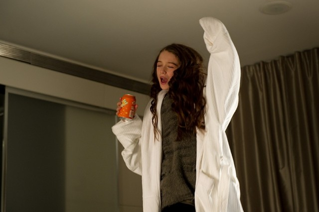 Photo - Molly drinks QUBE