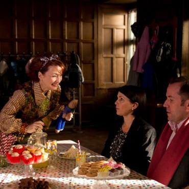 Miss Adderstone hypnotised - still from the movie