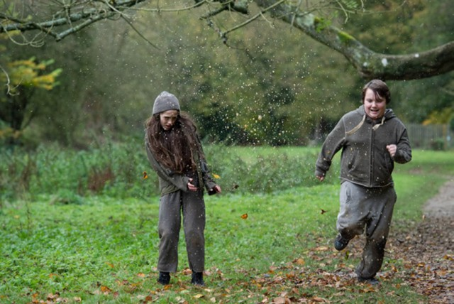 Molly & Gordon in the woods